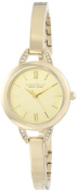 Caravelle New York Womens Analogue Stainless Watch - Gold Bracelet - Gold Dial - 44L129