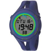 Puma Women's Air PU911171004 Blue Resin Quartz Watch