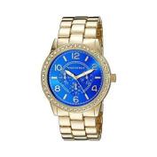 vernier women's vnr11194yg analogue display japanese quartz gold watch