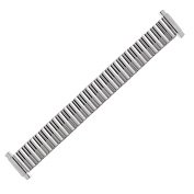 Hadley Roma LB6852W 9-12mm Stainless Straight Expansion Bracelet Watch Strap