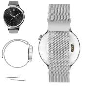 Magnetic Milanese Loop Stainless Steel Bracelet Watch Band For Huawei Watch, Huawei Watch Jewel, Withings Activit, Withings Steel HR 36mm :