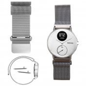 Magnetic Milanese Loop Stainless Steel Bracelet Watch Band For Withings Steel HR 40mm :