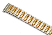 SPEIDEL 10-14MM TWO TONE TWIST O FLEX EXPANSION WATCH BAND STRAP