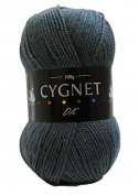 Double Knitting Yarn/Wool | Charcoal | 100g | 100% Acrylic | Cygnet C100/131