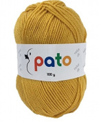 Pato Value Acrylic Double Knitting Yarn | Mustard | 100g | Cygnet C1008/636