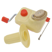 YNuth Hand Operated Swift Yarn Winder Wool String Thread Fibre Ball Fibre Skein Winder Holder