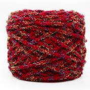 175g/Roll Knitting Yarn,Woopower Seven-colour Yarn Ice Yarn Hand Knitting Coarse Yarn Crochet Hat Scarf Slipper Yarn