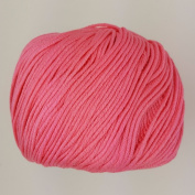 RICO ESSENTIALS COTTON DK - 50g 12 Candy Pink ***ALL COLOURS AVAILABLE***