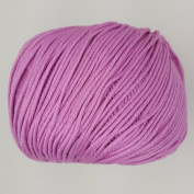 RICO ESSENTIALS COTTON DK - 50g 09 Orchid ***ALL COLOURS AVAILABLE***