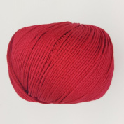 RICO ESSENTIALS COTTON DK - 50g 04 Cherry ***ALL COLOURS AVAILABLE***
