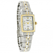 Raymond Weil Women's 9740-STG-00995 Parsifal Diamond Accented 18k Gold-Plated and Stainless Steel Watch