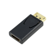 Flashcat 1080P HD TV PC Display Port DP Male to HDMI Female Adapter Converter