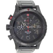 Nixon 48-20 Chrono All-Black Men's Watch, A4861320