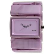 Nixon Vega Thistle Purple Dial Polycarbonate Band Quartz Ladies Watch A726-727
