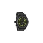 Nixon Tide Black Dial Black Polyurethane Quartz Mens Watch A058-1256