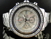 Breitling Breitling A13370 Super Avenger Stainless Steel with Diamonds