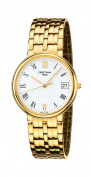 Certina Swiss Time Maker 18kt Gold Mens Watch White Dial Date C158.9539.68.24