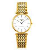 Longines La Grande Claasique Automatic Smaller Size Transparent Case Back Men's Watch