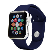 Soft Silicone Sport Replacement Bands for Apple Watch Series 1, Series 2, Series 3 42MM