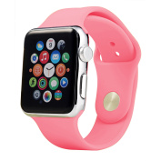 Soft Silicone Sport Replacement Bands for Apple Watch Series 1, Series 2, Series 3 38MM