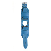Leather Band for 38MM Apple Watch - Blue