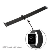 Watch Band with Magnetic Closure Clasp, Stainless Steel Bracelet Strap, for Apple Watch Sport & Edition 4.2cm