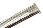Speidel 16-19mm Silver Stainless Steel Twist O Flex Expansion Watch Band Strap