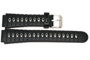 18mm Black Grey Heavy Rubber Sport Diver Watch Band Strap Fits Seiko