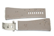 NIKE MERGE ATTRACT TAN REPLACEMENT RUBBER WATCH BAND WC0024