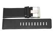 NIKE OREGON SQUARE G BLACK REPLACEMENT LEATHER WATCH BAND WA0037 001