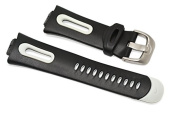 NIKE REVEAL BLACK grey REPLACEMENT RUBBER WATCH BAND WXS003 001