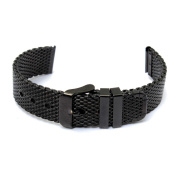 18mm Mesh Stainless Steel Milan Bracelet Traditional Watch Band