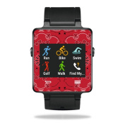 MightySkins Protective Vinyl Skin Decal for Garmin Vivoactive Smartwatch cover wrap sticker skins Bandana