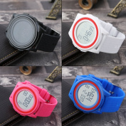 Black SKMEI 1206 Women's Fashion Jelly Colour Silicone Band Waterproof Wristwatch