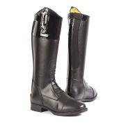 Toggi Unisex Kids Charleston Horse Riding Boots, Black (Black), 4 Child UK 37 EU
