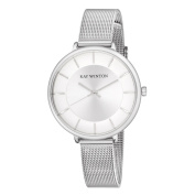 Ray Winton Women's WI0816 Silver Dial Silver Stainless Steel Mesh Bracelet Watch