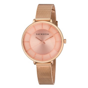 Ray Winton Women's WI0815 Blush Dial Rose Gold Steel Mesh Bracelet Watch