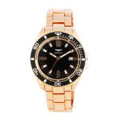 Vernier Gianello Men's Metal Bracelet Divers Watch