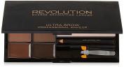 Makeup Revolution Ultra Brow Kit - Medium to Dark