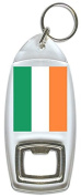 Flag of Ireland - Bottle Opener Keyring