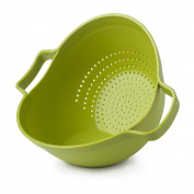 "Zeal Plastic Drain and Serve Colander Lime (9""/23cm), Lime Green, 27 x 23 x 20 cm"