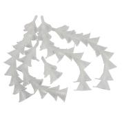Dianoo 40PCS Plastic Funnel, General Purpose Plastic Mini Funnels, Kitchen Funnel for Liquid Transfer 100%