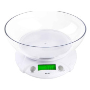 Befaith WH-B09L 7KG * 1G Electronic Kitchen Scales Portable LCD Digital Food Diet Scale Balance Weight Tool With Bowl