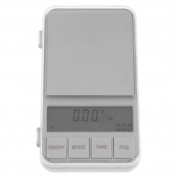 Demiawaking 500g/0.01g Mini Digital Jewellery Diamond Gem Plastic+Stainless Steel Scale