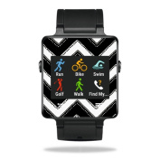 MightySkins Protective Vinyl Skin Decal for Garmin Vivoactive Smartwatch cover wrap sticker skins Chevron Style