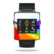 MightySkins Protective Vinyl Skin Decal for Garmin Vivoactive Smartwatch cover wrap sticker skins Rainbow Flood