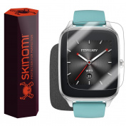 Skinomi Brushed Steel Skin & Screen Protector for Asus Zenwatch 2 49mm
