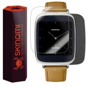Skinomi TechSkin - Brushed Steel Skin & Screen Protector for Asus Zenwatch