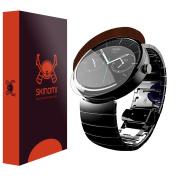 Skinomi Dark Wood Skin & Screen Protector Motorola Moto 360 42mm