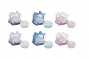 Invero® Pack of 6 Lovely Cupcake Bath Bombs Includes Raspberry, Blueberry and Plum Fragrances Ideal for Gift or Personal Use